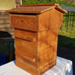 Warré Hive with two brood boxes